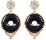 House Of Harlow Drop Black Onyx Small Earrings