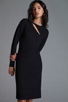 Thumbnail for your product : Bordeaux Slim Cut-Out Mini Dress By in Black Size L