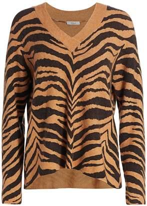Rails Eleanor Animal Print Sweater