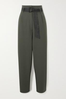 MUNTHE Ergo Belted Crepe Pants