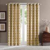 Bed Bath & Beyond Verona 95-Inch Chenille Window Curtain Panel in Yellow