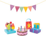 Le Toy Van Party Time dolls' house accessory pack