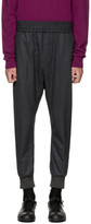 Wooyoungmi Grey Wool Lounge Pants
