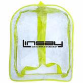 Asstd National Brand Linsay Kids Clear Backpack