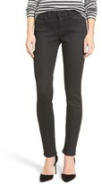 Mavi Jeans Women's Gold Adriana Coated Super Skinny Jeans