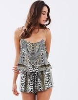 Camilla Shoestring Strap Playsuit
