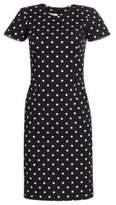 Carolina Herrera Icon Collection Polka Dot Cotton Dress