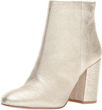 Kenneth Cole New York Women's Caylee Dress Bootie with Block Heel Leather Ankle