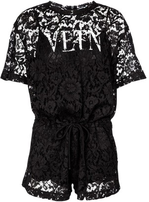 Valentino lace playsuit