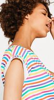 Esprit RETRO COLLECTION: Multicolour stripe T-shirt