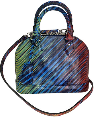 Louis Vuitton Alma BB Multicolour Leather Handbags