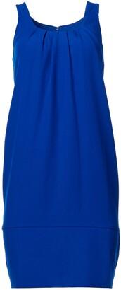 Tahari ASL Women's Sleeveless U-Neck Shift Dress