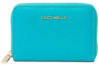 Coccinelle Leather Mini Zip Around Wallet