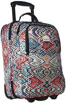 Roxy Women's Wheelie Carry-on Suitcase