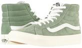 Vans SK8-Hi Slim Sea Spray/True White) Skate Shoes