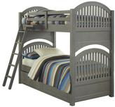 Hillsdale Furniture Lake House Adrian Twin Over Twin Bunk Bed with Trundle