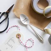The Cutlery Commission Personalised Secret Santa Vintage Spoon