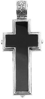 Konstantino Silver Onyx Pendant Necklace
