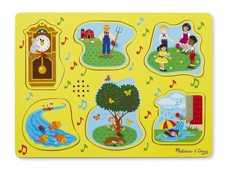 Melissa & Doug Nursery Rhymes Sound Puzzle