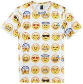 Hrveymn Young Men's 3D Emoji ctivewer Sportwer Shirt Swetpnts Joggers