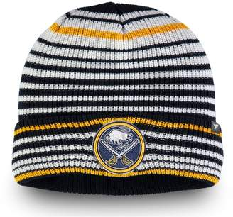 Buffalo David Bitton Men's Fanatics Branded Navy Sabres Iconic Layer Core Cuffed Knit Hat