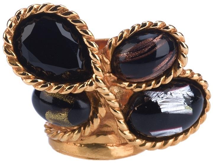 Yves Saint Laurent Multi-stone ring