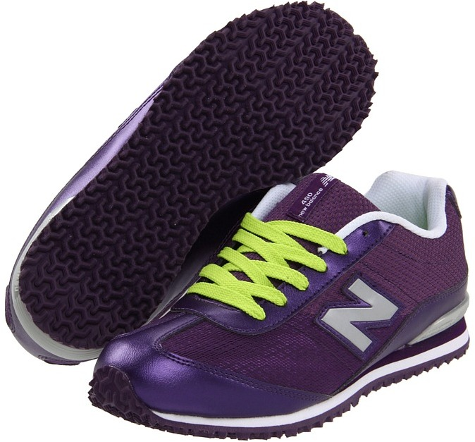 New Balance KL490 (Toddler/Youth) (Purple) - Footwear