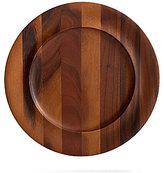 Nambe Skye Acacia Wood Charger Plate