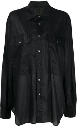 Unravel Project Oversized Longline Shirt