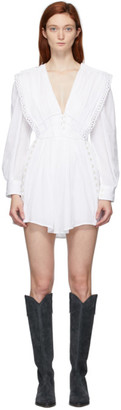 Isabel Marant White Yaxo Dress