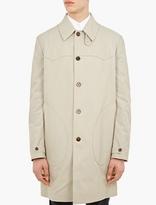 Maison Margiela Natural Classic Cotton Trench Coat