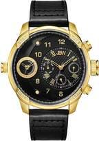JBW Men's Swiss Multifuction Black Dial Watch, 46mm