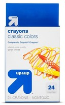 up & up Crayons, 24ct
