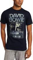 FEA Men's David Bowie Isolar Tour 1976 Tee