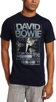 FEA Men's David Bowie Isolar Tour 1976 Tee