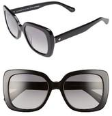 Kate Spade Women's Krystalyn 53Mm Sunglasses - Black