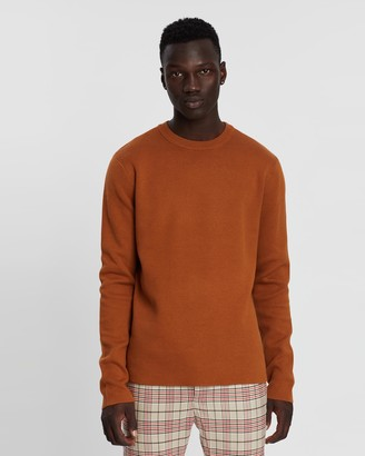 Topman Double Face Knitted Jumper