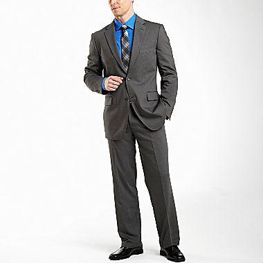 JCPenney JF J. Ferrar® Gray Stripe Suit Separates