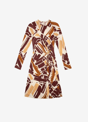 Bally Graphic Print Dress