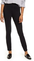 Spanx R) The Perfect Black Pant - Back Seam Skinny Pants