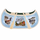 Certified International Lake Life Serving Tray