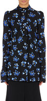 Proenza Schouler Women's Crepe Blouse-BLUE