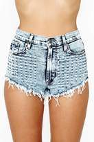 Nasty Gal Perforated Cutoff Shorts