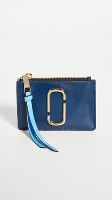 Marc Jacobs The Snapshot Top Zip Multi Wallet