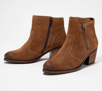 Earth Leather Ankle Boot - West Ralston