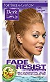 Soft Sheen Carson Dark and Lovely Fade Resist Rich Conditioning Color, Honey Blonde 378