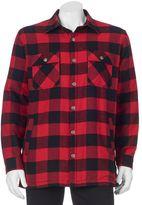Croft & Barrow Men's Flannel Shirt Jacket