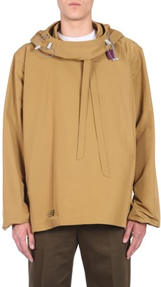 Lanvin Oversized Hooded Jacket
