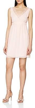 Naf Naf Women's LARISTA R1 Knee-Length A-Line Sleeveless Party Dress,10 (Manufacturer Size: )