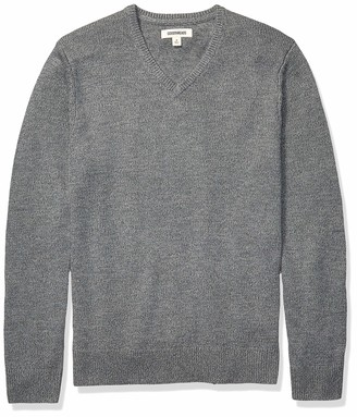 Goodthreads Amazon Brand Men's Supersoft Marled V-Neck Sweater